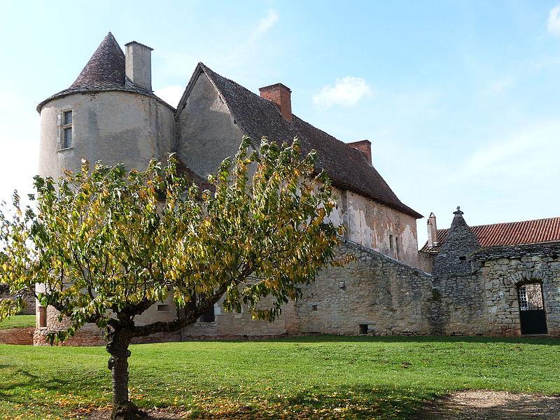 Corps de bâtiment appelé château de Bouscary et faisant partie de l'ensemble du château de Couanac (Varaire)