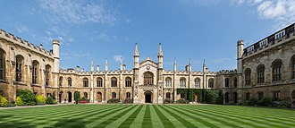 College - Corpus Christi College, one of the constituent colleges of the University of Cambridge.