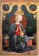 Cosme Tura Madonna and Child in the Garden.jpg