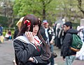 Cosplayer of Akiko Himenokōji, OniAi at CWT33 20130302.jpg