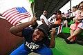 Costa Rican children goof around with Marines (4942037786).jpg