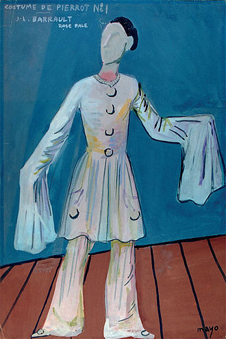 Children of Paradise - Costume of Pierrot for Baptiste by Mayo