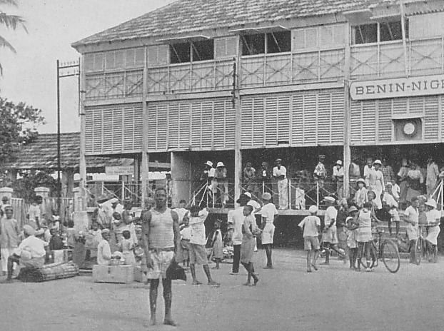 Cotonou Station in 1930s