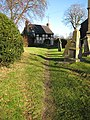 Cottage in a churchyard - geograph.org.uk - 1060920.jpg