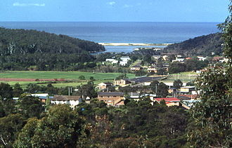 Merimbula - View of town