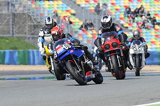 Motorcycle racing racing sport using motorcycles