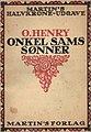 Cover of O. Henry's Onkel Sams Sønner 1919.jpg