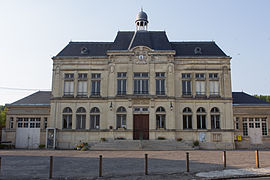 The town hall of Craonne
