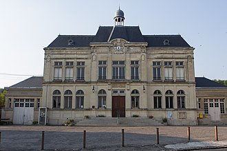 Craonne - The town hall of Craonne