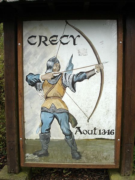 File:Crecy village sign.JPG