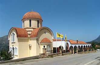 Kourites - Church of Agios Nektarios, Fourfouras