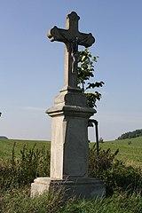 Wayside cross (Korbelova Lhota, Velké Opatovice, Blansko District)