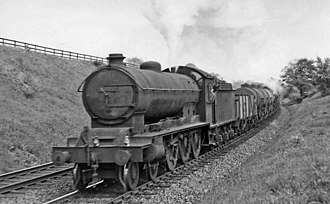 NER Class S3 - No. 61469 at Croxdale 12 June 1954