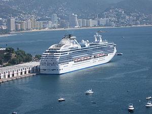 Cruise in Acapulco, Mexico