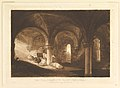 Crypt of Kirkstall Abbey (Liber Studiorum, part VIII, plate 39) MET DP821505.jpg