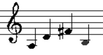Reentrant tuning - Traditional re-entrant cuatro tuning