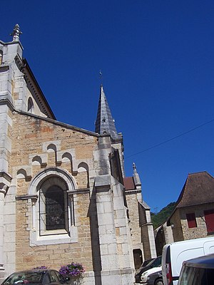 Cuiseaux - Spire of the church