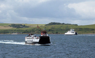 Great Cumbrae - Image: Cumbrae Slip from Largs pier