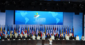 6th Summit of the Americas - Opening ceremony of the 6th Summit of the Americas with a performance by Shakira.