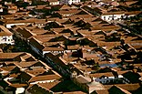 Aereal view of Cusco