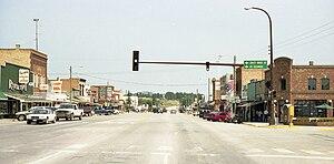 Custer, South Dakota - The main street in 2003