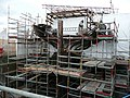 Cutty Sark under restoration after being damaged by fire - geograph.org.uk - 906599.jpg
