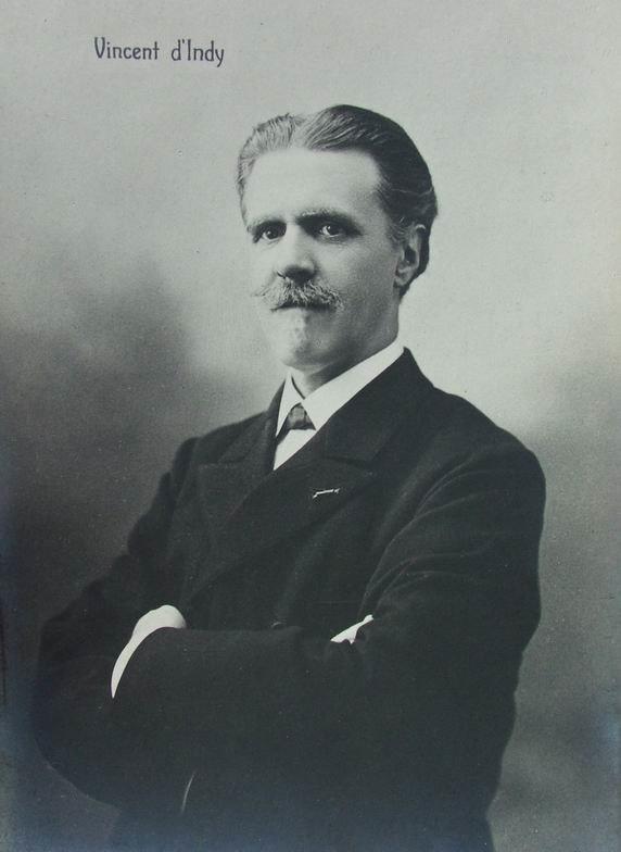 D'Indi Vincent Postcard-1910