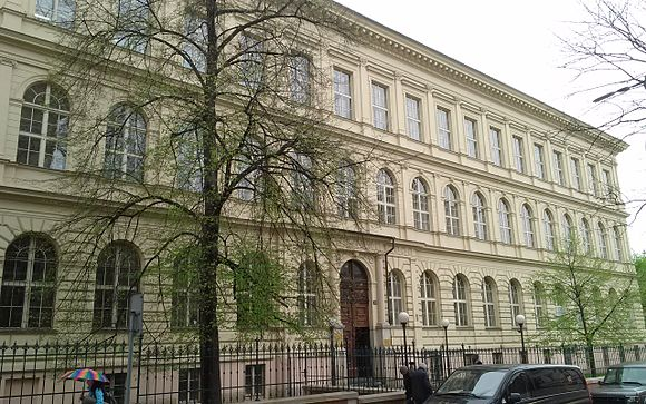 Dean's office at the First Faculty of Medicine, Charles University, Prague Dekanat 1.LF UK.jpg