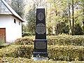 Džūkste, A. Lerha-Puškaiša kapa piemineklis. 1999-10-16 - panoramio.jpg
