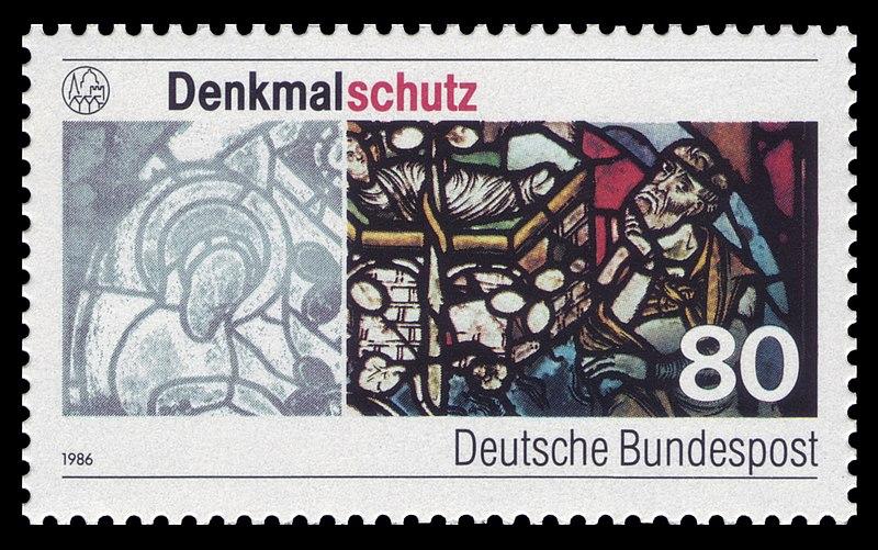 Datei:DBP 1986 1291 Denkmalschutz.jpg