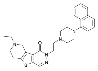 5-HT5A receptor - Image: DE19900637A1 5HT5A ligand