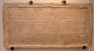 DM TI Claudius Tiberinus
