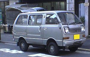 Kei car - Daihatsu Hijet S40 microvan