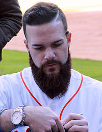 Dallas Keuchel signing autographs in Jan 2015.jpg