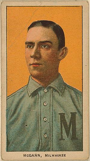 Dan McGann - McGann's American Tobacco Company baseball card