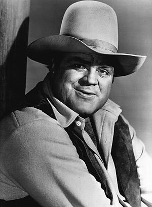 Dan Blocker - Blocker as Hoss Cartwright on Bonanza
