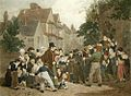 Dancing Bear (Restrike Etching) by William Frederick Witherington.jpg