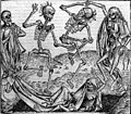 Dancing skeletons, 'Dance of Death' Wellcome L0006816.jpg