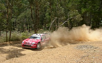 Citroën World Rally Team - Citroën Xsara WRC at the 2006 Rally Australia