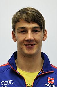 Daniel Bohnacker bei der Olympia-Einkleidung Erding 2014 (Martin Rulsch) 02.jpg