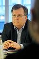 Danmarks arbetsmarknadsminister Claus Hjorth Frederiksen presenterar en rapport om EU utvidningen och dess konsekvenser for de nordiska arbetsmarknaderna.jpg