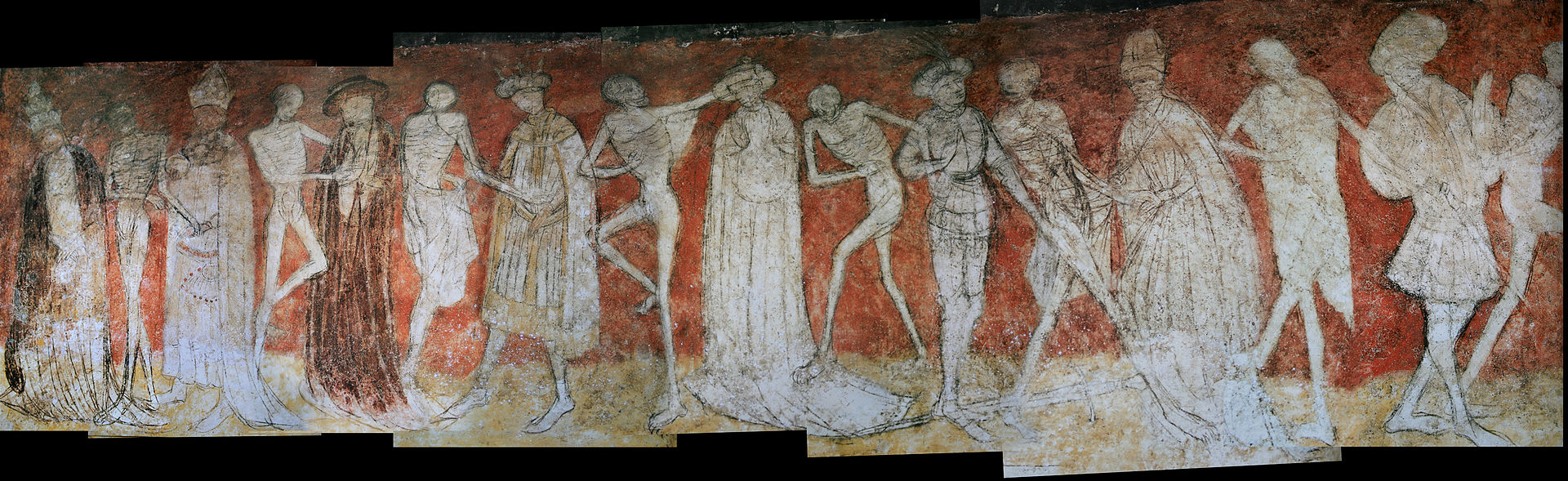 Danse macabre on art and aesthetics - Abbaye de la chaise dieu ...