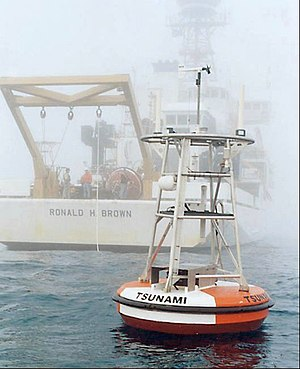 Deep-ocean Assessment and Reporting of Tsunamis - A tsunami buoy