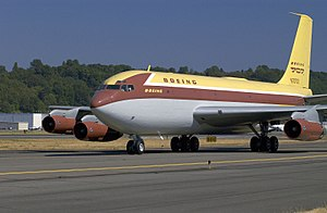 Boeing 707 - The 707 was based on the Dash 80