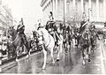 Day 98 – Police Horses by Birmingham Town Hall.jpg