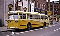 Dayton Pullman trolley bus, Jefferson & 4th, 1968.jpg
