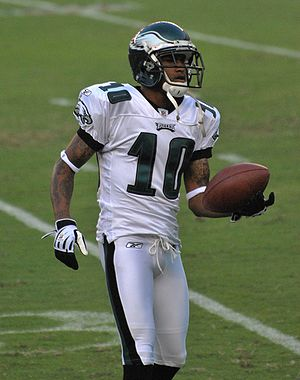 Desean Jackson with Philadelphia