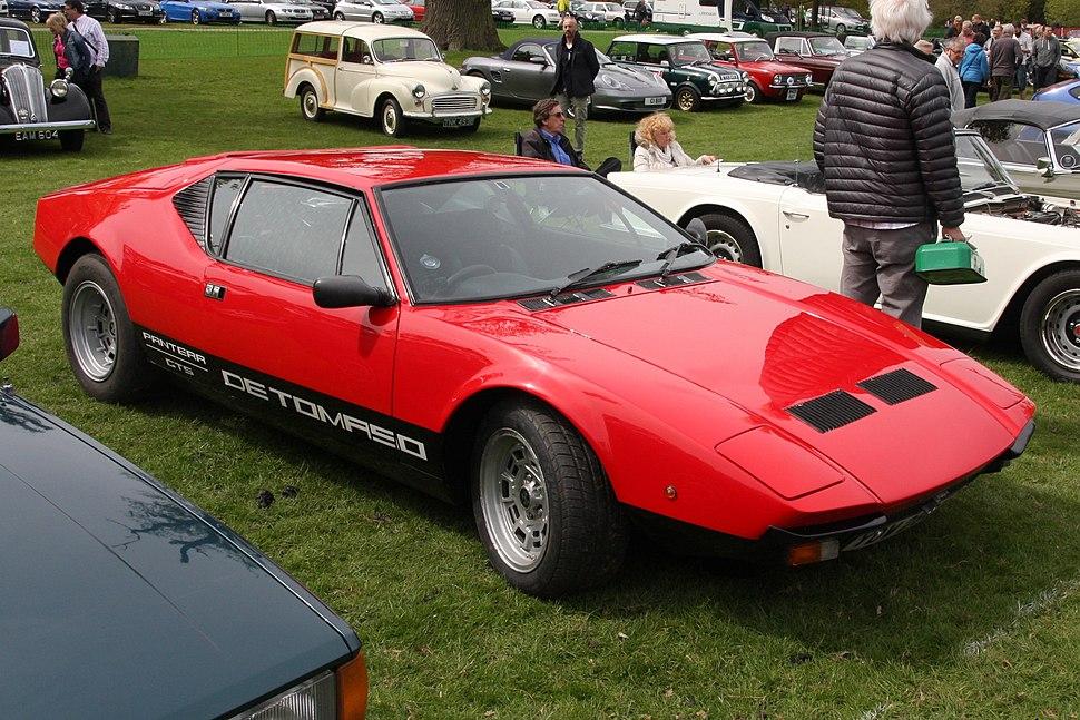 De Tomaso Pantera GTS at Woburn