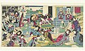 De zeven geluksgoden bij het kweken van zijderupsen, RP-P-1902-A-22835.jpg
