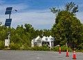 Dead end of Roxham Road, Champlain, NY, at Canadian border.jpg
